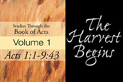Acts Volume 1 - The Harvest Begins (CD Set)