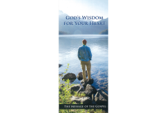 Gospel Tract: God's Wisdom For Your Heart (Packet of 25)